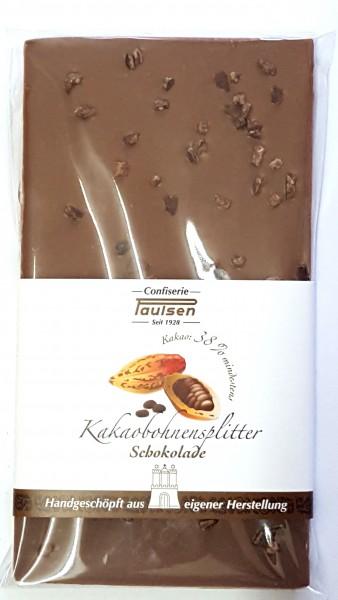 Edelvollmilch 38% Kakaosplitter