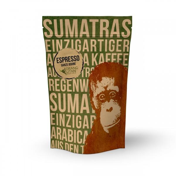 ORANG-UTAN-Espresso - Indonesien, ganze Bohne
