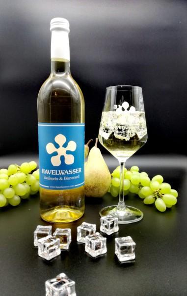 Havelwasser Weiß Bio - Birnensaft küsst Weißwein 750ml