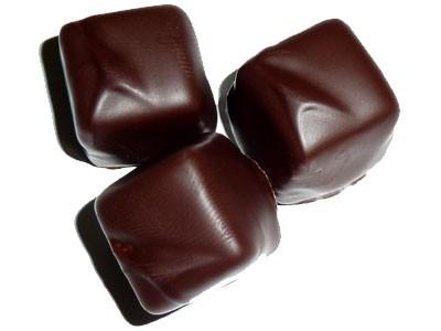 Marzipan Würfel Edelbitterschokolade
