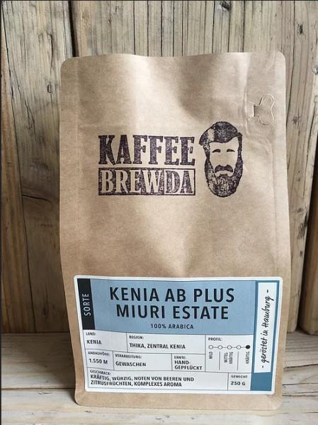 Kenia AB Plus Miuri Estade Kaffee - ganze Bohne