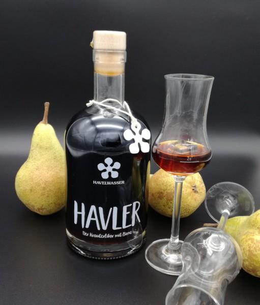 Havler - Der Kräuterlikör mit Birne (500ml)