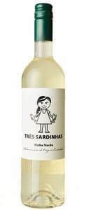 TRÊS SARDINHAS Vinho Verde DOC 2019