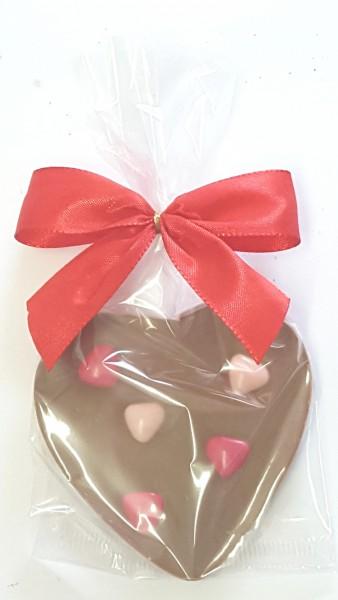 SchokoladenHerz Herzen, Edelvollmilch