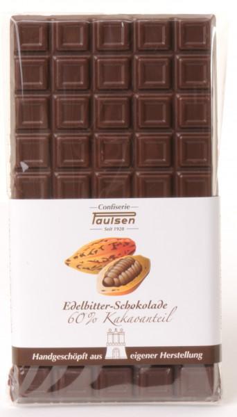 Edelbitter Schokolade 60%