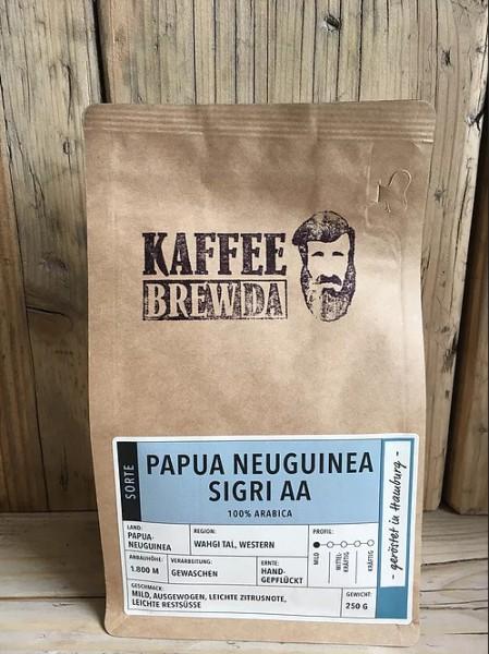 Papua Neuguinea Sigri AA Kaffee - ganze Bohne
