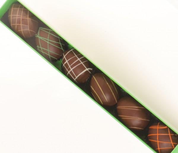 6er Ostereier Marzipan Stange (grün)