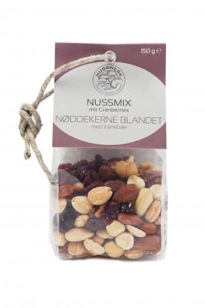 Nussmix mit Cranberries