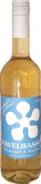 Havelwasser Weiß Bioland - Birnensaft küsst Weißwein 750ml
